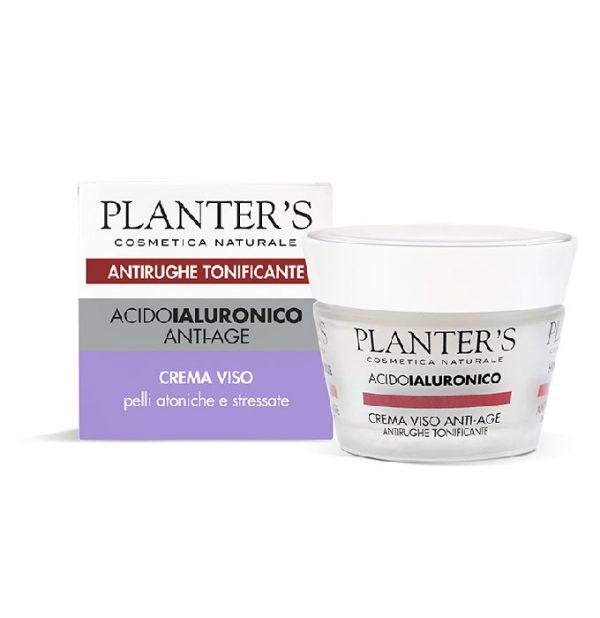 Crema Viso Anti-Age Antirughe Tonificante Acido ialuronico